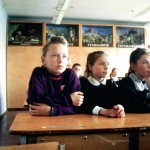 Schule in Kretinga, April 1991