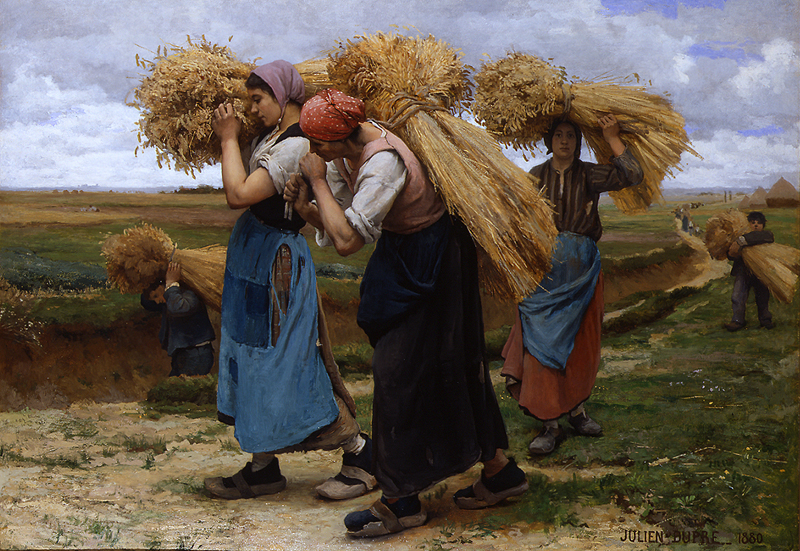 Julien-Dupre-The-Gleaners