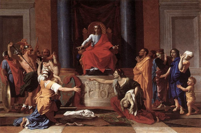 Nicolas_Poussin_-_The_Judgment_of_Solomon_-_WGA18330