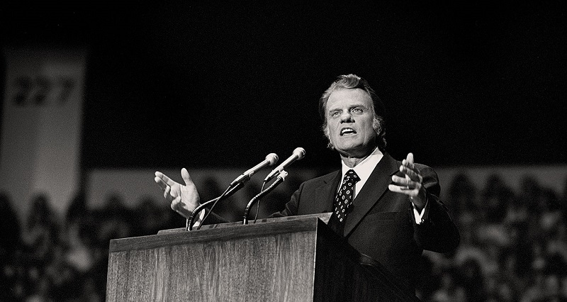Library-Billy-Graham-Speaking