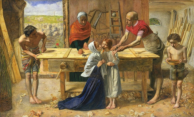1200px-John_Everett_Millais_-_Christ_in_the_House_of_His_Parents_(`The_Carpenter's_Shop')_-_Google_Art_Project